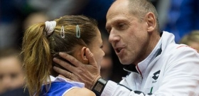 Camila Giorgi e Corrado Barazzutti