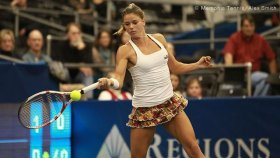 Camila Giorgi classe 1991, al momento al n.153 del mondo