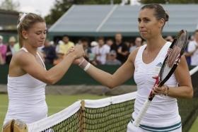 Nella foto Flavia Pennetta e Camila Giorgi