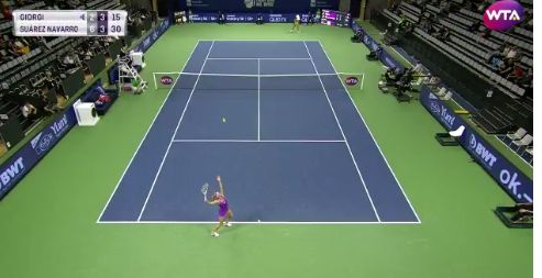 Camila Giorgi classe 1991, n.98 WTA