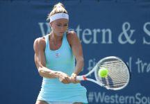 WTA Cincinnati: Si ferma agli ottavi di finale Camila Giorgi