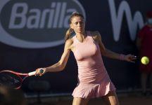 """WTA Parma: Camila Giorgi avanza al secondo turno """"È stato un match molto complicato, lungo ed equilibrato. Sono felice di essere riuscita a portarlo a casa"""""""