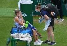 WTA 500 Eastbourne: Camila Giorgi si ritira in semifinale