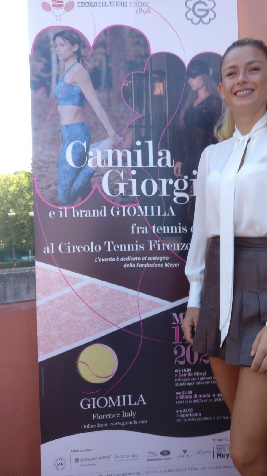 Camila Giorgi nella foto