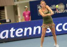 Le fasi finali ed il match point mancato da Camila Giorgi nella finale del torneo di Linz (Video)