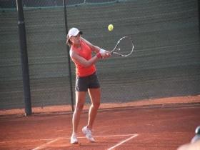 Foto Susanna Giovanardi  che ha conquistato il suo primo punto WTA