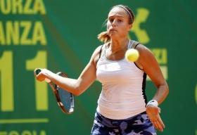 Claudia Giovine classe 1990, n.461 WTA  Foto Felice Calabrò