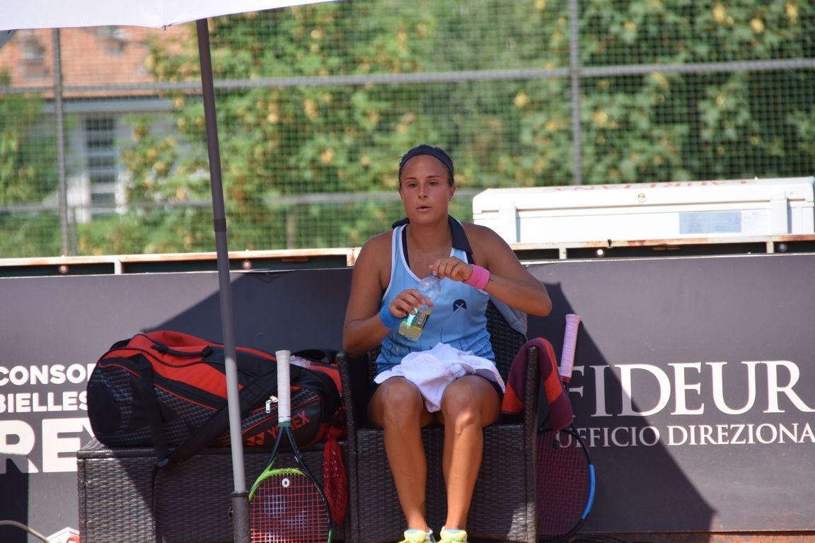 Claudia Giovine nella foto