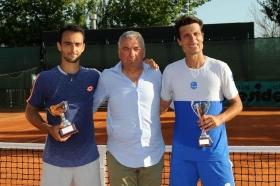 Il vincitore ed il finalista del torneo di Basilicanova