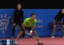 Challenger Ostrava: Lorenzo Giustino elimina Dzumhur e vola ai quarti
