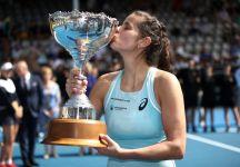 WTA Auckland: Julia Goerges batte la Wozniacki e vince il terzo torneo consecutivo (Video)