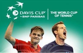 Davis Cup - Finale Belgio vs Gran Bretagna: Live Dettagliato Day 1