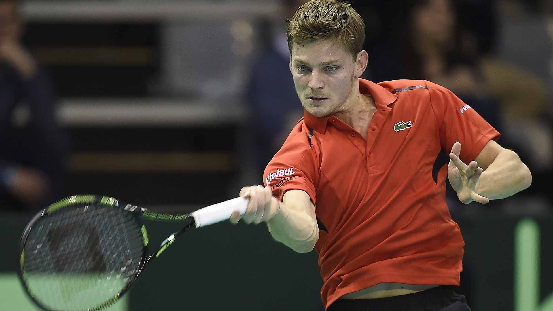 David Goffin n.1 del Belgio