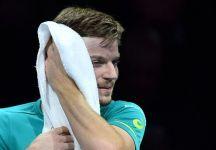 """David Goffin: """" Dimitrov è stato migliore di me in finale e ha vinto. Ho battuto Roger e Rafa ma alla fine ho perso la finale"""""""