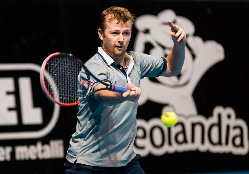 Andrey Golubev nella foto - Foto Antonio Milesi