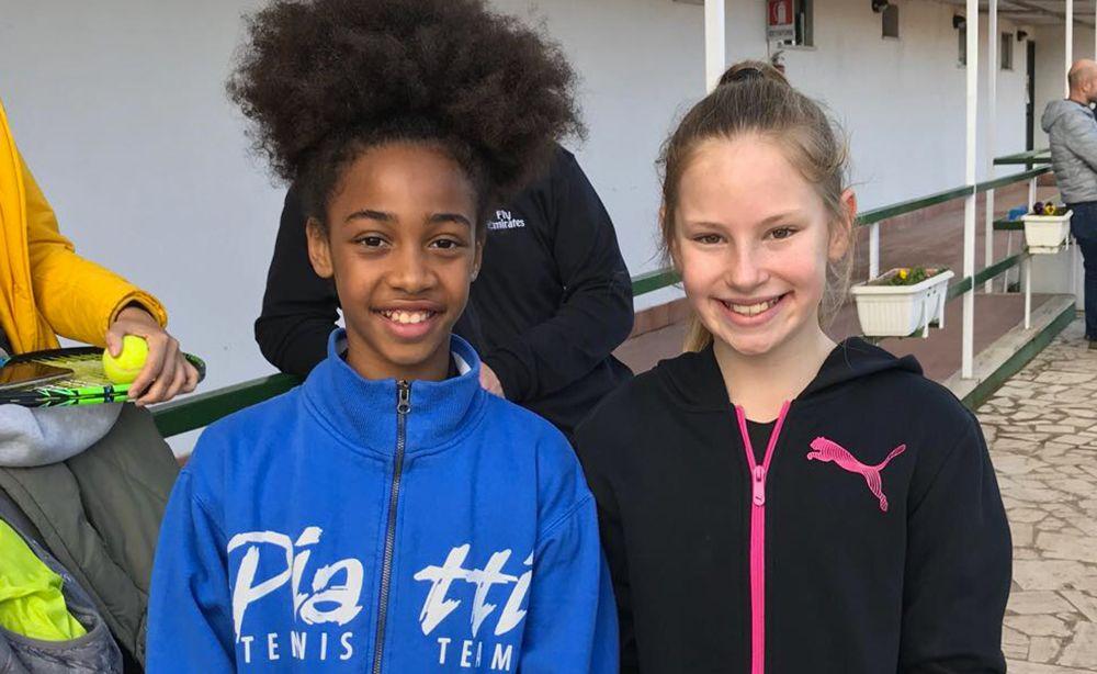 Tyra Grant, figlia dell'ex giocatore Nba Tyrone Grant, giocherà invece la finale under 10 femminile contro la brava lombarda Carla Giambelli.