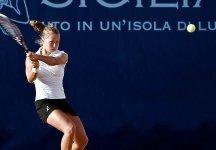 ITF Santa Margherita Di Pula: Risultati Completi Secondo Turno. Floris, Grymalska e Marchetti ai quarti di finale
