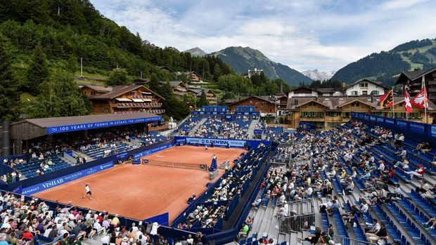 Nubi sul torneo di Gstaad