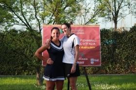 In foto Federica Severi ( a destra ) e Giorgia Guidotti