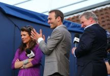 Ross Hutchins in campo all'Australian Open
