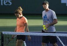 Simona Halep si scusa con il suo coach