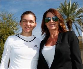 Simona Halep con Nadia Comaneci