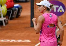 WTA Roma: Simona Halep vince il titolo del Foro Italico per la prima volta in carriera