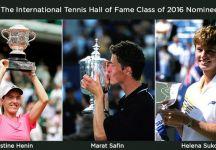 Henin, Safin e Sukova nominati per l'Hall of Fame