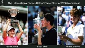 Henin, Safin e Sukova candidati per l'Hall of Fame