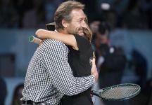 L'addio di Daniela Hantuchova al tennis. L'ultimo punto giocato con il suo idolo Miloslav Mecir