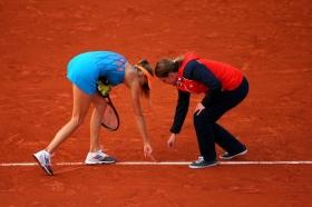 Assistiamo ad un clamoroso errore arbitrale proprio qui al <strong>Roland Garros</strong>