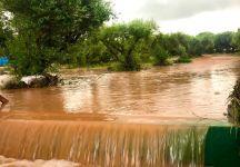 Incredibile bomba d'acqua ad Heraklion: strutture distrutte, a rischio la prosecuzione del torneo
