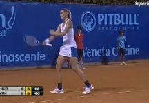 Video del Giorno: Ecco il famoso gesto di Polona Hercog nel torneo di Palermo
