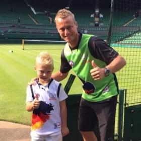 Il figlio di 7 anni di Lleyton Hewitt apre un account su Twitter