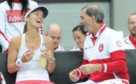 Martina Hingis in carriera ha vinto cinque prove dello slam in singolare