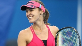 Martina Hingis in carriera ha vinto cinque prove dello slam