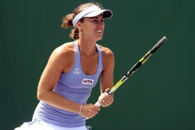 Martina Hingis in carriera ha vinto cinque prove dello slam in singolare e nove in doppio