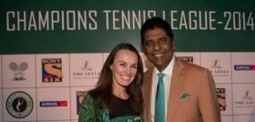 Martina Hingis e Vijay Amritraj