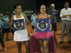 Le due finaliste: Lizarazo e Barbieri.