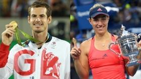 Andy Murray e Angelique Kerber sono i campioni del mondo ITF 2016