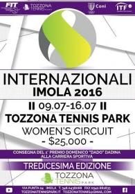 Internazionali di Imola 2016: ecco il manifesto ufficiale