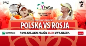 ià tutto pronto in <strong>Polonia</strong> per la supersfida di primo turno dell'edizione <strong>2015 di Fed Cup</strong>