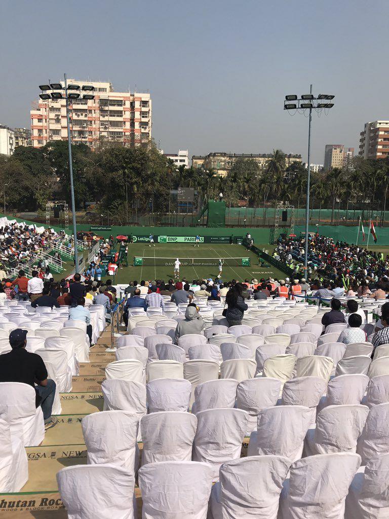 Davis Cup - India vs Italia 1-2: Gli indiani accorciano le distanze. Bolelli-Berrettini erano avanti di un break nel terzo set