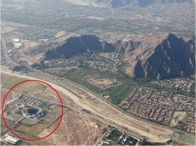 Un'oasi che ospita ricchi pensionati americani, immersa nel deserto della California. Questo è Indian Wells.