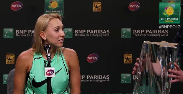 """Il trofeo """"Unico"""" di Indian Wells (Video)"""