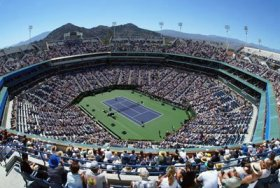 Lo stadio di Indian Wells
