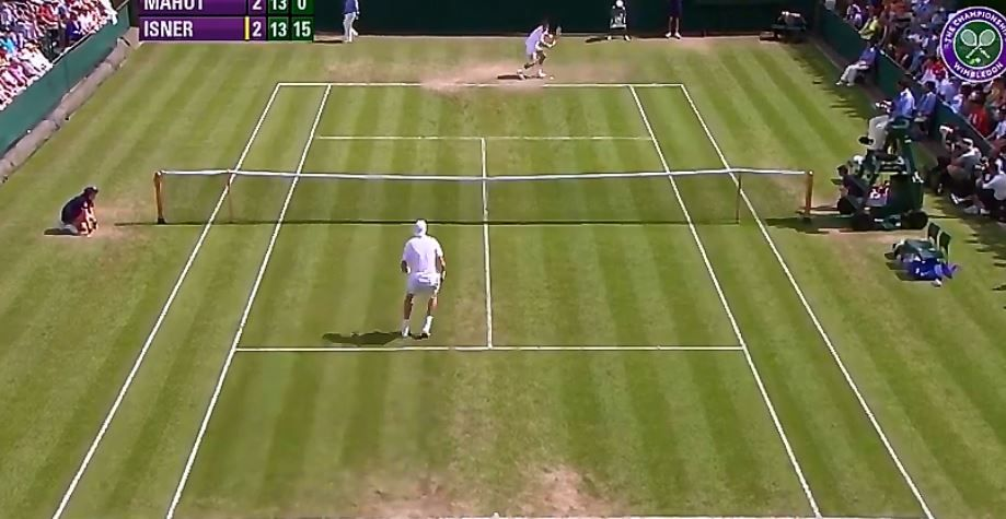 Wimbledon stra trasmettendo LIVE la storica partita tra Mahut vs Isner (VIDEO)