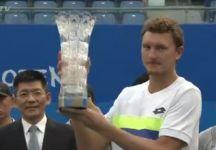 ATP Shenzhen e Chengdu: David Goffin vince a Shenzhen. Marcos Baghdatis si ritira per un problema fisico e scoppia in lacrime. Titolo a Chengdu a Istomin (Video)