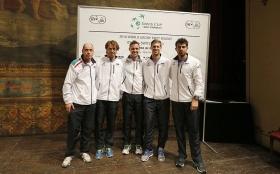 La squadra italiana di Coppa Davis - Foto Costantini