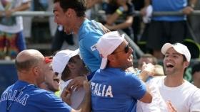Davis Cup: L'Italia giocherà contro la Russia in Siberia